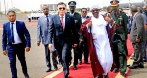 السراج والبشير في السودان